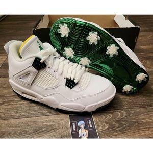 Nike Air Jordan 4 G NRG Golf Shoes Masters Tournament Edition 8.5